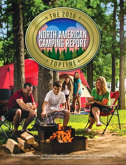 North American Camping Report (NACR) 2016