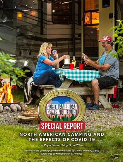 North American Camping Report (NACR) 2020 - Fall Update COVID